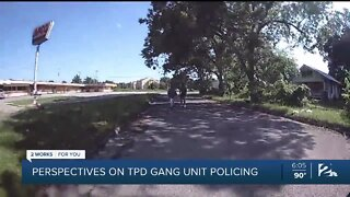Perspectives on TPD Gang Unit Policing