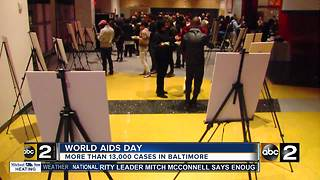 Greater Baltimore HIV Health Services hosts event for World AIDS Day - Video