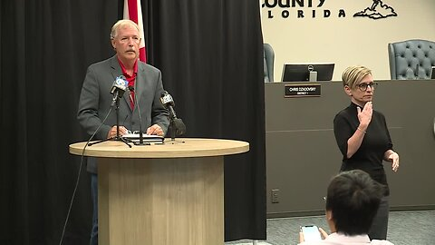 FULL NEWS CONFERENCE: St. Lucie County leaders update coronavirus response