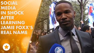 Fans can't believe Jamie Foxx's shocking real name - Video