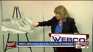 Webco announces multi-million dollar expansion in Sand Springs