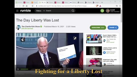 Fighting for a Liberty Lost