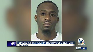 Second arrest made in shooting of 7-year-old