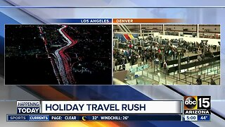 Holiday travel troubles amid storms