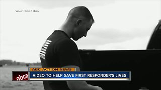 Hook A Hero video aimed at helping save first responders lives - Video
