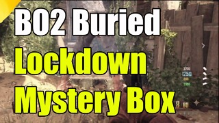 Black Ops 2: How to lock down mystery box on Buried Zombies - Video
