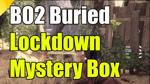 Black Ops 2: How to lock down mystery box on Buried Zombies