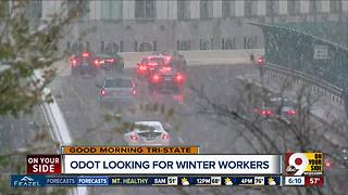 ODOT looking for winter workers - Video