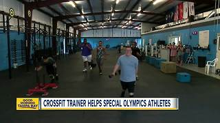 Former USF football player starts weightlifting program for kids with special needs