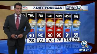 Latest Weather Forecast 6 p.m. Tuesday - Video