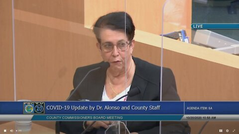 Dr. Alina Alonso says Palm Beach County should be prepared for 'additional control measures'
