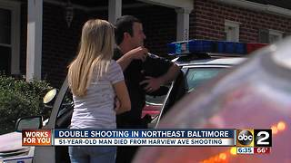 1 dead, 1 injured after Northeast Baltimore shooting Saturday - Video