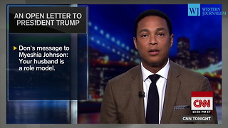 Don Lemon Reads Open Letter to Trump