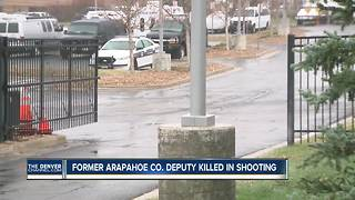 Arapahoe County deputy shoots, kills former deputy outside sheriff's office HQ - Video