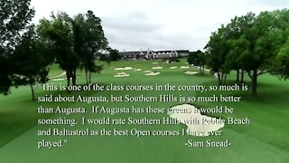 Southern Hills Country Club golf course highlights