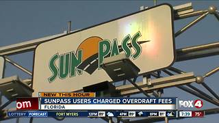 No overdraft fees for SunPass users following glitches - Video