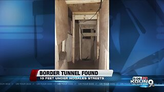 Cross-border tunnel found in Nogales