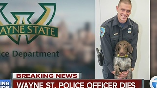 Wayne State University police officer dies after being shot Tuesday - Video