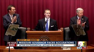 Missouri governor faces accusations - Video