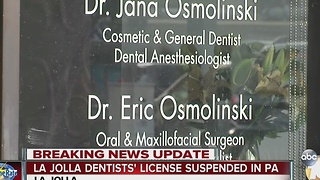 La Jolla dentist responds to accusations of possible patient HIV exposure in Pennsylvania - Video