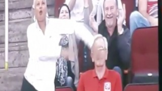 FUNNY! Grown men have dance off with grandma at Suns game - ABC15 Digital - Video