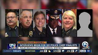 School police chief interviews Thursday - Video