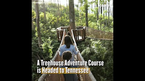 A Treehouse Adventure Course is Headed to Gatlinburg, Tennessee