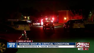 Woman shot in the head fights for her life - Video