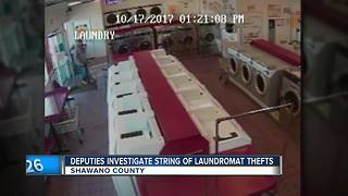 Shawano County deputies looking for man after laundromat thefts - Video