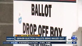 Denver election ballots being mailed out