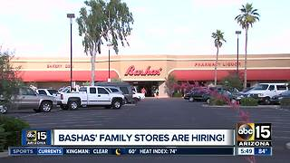 Bashas' stores are hiring! - Video