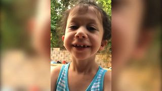 Little Girl Fails To Say Supercalifragilisticexpialidocious - Video