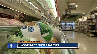 Ask the expert: last minute shopping tips - Video