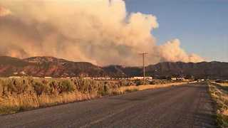 Smoke Fills the Skies as Brian Head Wildfire Grows to 5,000 Acres - Video
