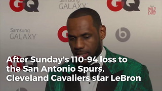 Lebron James Whines About Bias After Another Team Loss - Video