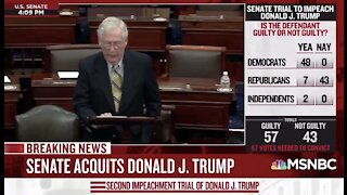 Mitch McConnell Throws Trump Under The Bus