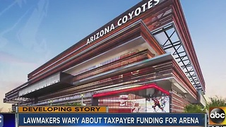 Arizona Coyotes urging lawmakers to help build stadium - Video