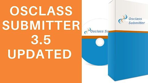 Osclass Submitter 3.5 Updated 7/19/20 Simple Tutorial
