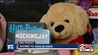 Giving to Green Country kids in need