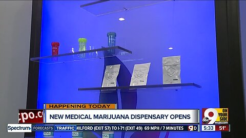 Greater Cincinnati's first medical marijuana dispensary opens today