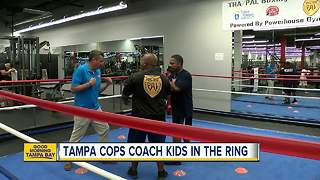 Tampa Police use boxing to teach kids confidence