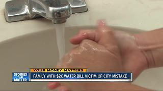 City mistakenly enforced water bill policy - Video