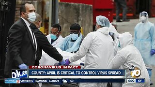 County: April is critical to control virus spread