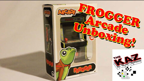 Frogger Arcade Classics Unboxing and Gameplay