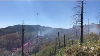 Mt. Lemmon Busch Fire ignited by abandoned campfire