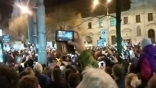 Tens of Thousands Join Anti-Government Protest in Bratislava - Video