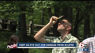 Keep an eye out for damage from eclipse - Video