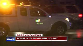 Power being restored in Erie County - Video