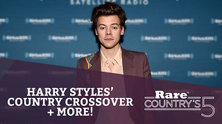 Harry Styles' Country Crossover + More | Rare Country's 5 - Video