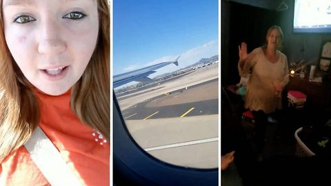 Heartwarming moment daughter flies back home to surprise her parents